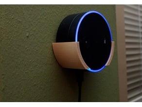 Snap fit wall mount for Gen 1 Amazon Echo Dot