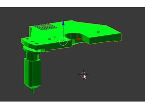 E3D V6 Direct BLTouch Clamp for Prusa