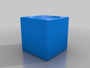 a box with a hole