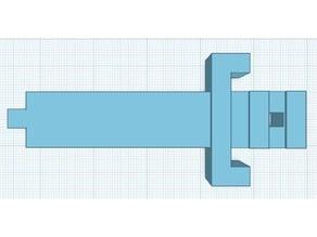 8-bit Legend of Zelda Sword Pendant