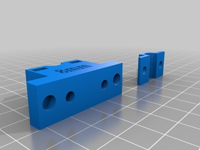8mm rod mount for Micromake C1 Y axis