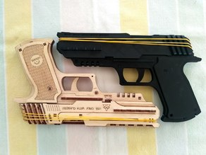 Wolf 01 Rubberband gun