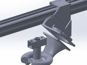 Fan duct nozzle with support - v2 - 3DRag/K8200