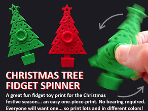 Christmas Tree Fidget Spinner