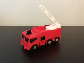 M.A.X. Truck - The Modular Toy Truck - Fire Truck Mission Accessory