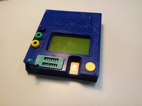 Case for LCR T4 component tester with Li-Ion battery