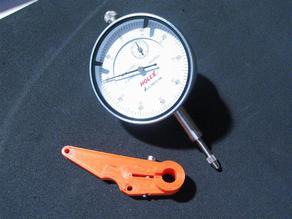 Dial gauge holder for Ultimaker