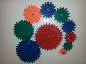 Magnetic Gear Toy