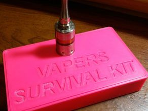 Vapers Survivor Kit with Stand