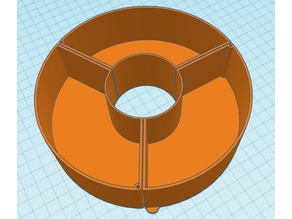 Used filamanet spool small parts bins