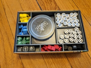 Tiny Epic Galaxies + Beyond the Black Organizer With Removable Trays
