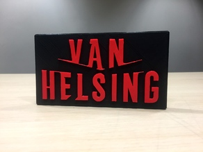 Van Helsing - Main Title Logo