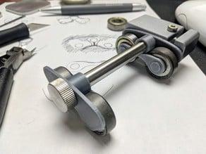 Minimal Spool Reel Guide for Snapmaker