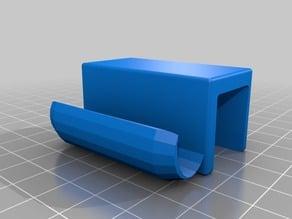 cabinet drawer-door edge pull