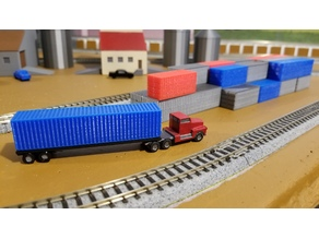 Cargo Container Set (N-Scale)