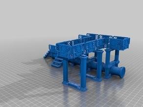 Modular Terrain set (pipes and walkways)