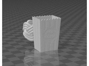 Popcorn bucket woggle (slide)
