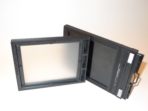 4X5 Ground Glass Holder for Large Format Camera