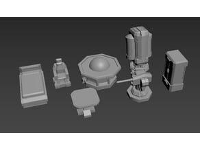 SciFi accessory pack