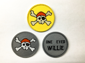 Goonies Pirate Coin (multi-material)