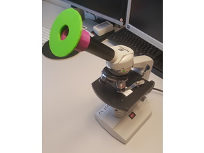 Smartphone and Tablet Adapter for Microscope