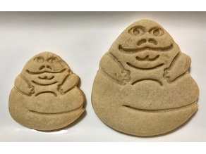 Jabba the Hutt Cookie Cutter (Simple Version)