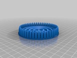 Quantum corral coaster