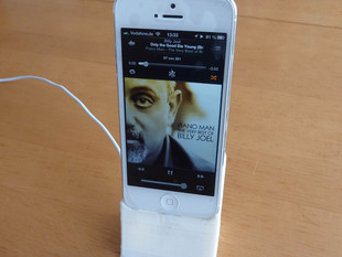 Stand for iPhone 5, 5S and SE - Dock to sync and charge