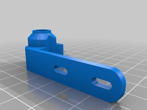 mirrored arm for Really High accuracy adjustable Z Endstop for Prusa