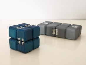 Infinity Cube Magnetic Hinge / Parametric Design