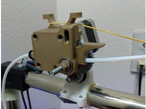 Extruder Gimbal for Tubing Frame