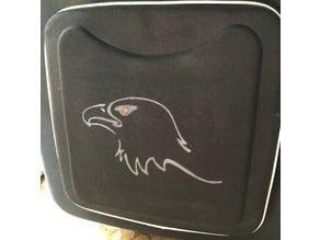 Eagle Stencil, home decor