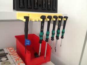 Screwdriver Holder (Wera Kraftform Micro)