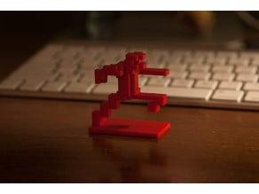Intellivision Running Man 3D
