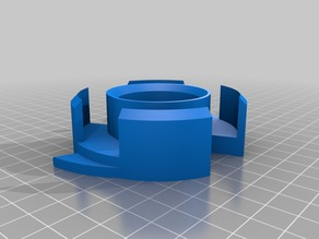 Ender 3 / Pro Filament Spool Adapter for 75mm Hole Spools.