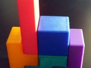 Tetrominoes (Tetris Pieces)