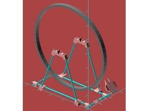 Zentrierständer für Fahrrad-Laufräder / bicycle wheel truing stand