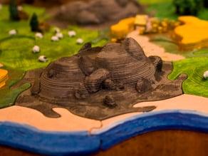 Catan Stone Tiles - Warcraft Inspired