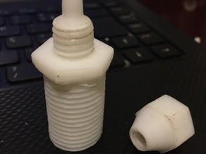 Wall Pipe Adapter to Thin Hose