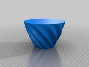 Nesting 11 lobed bowl