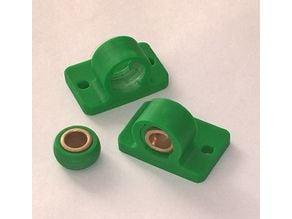 Self alignin igus bearing for Flsun i3, 8mm
