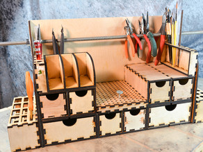 The Amazing Tool Organizer (lasercut)