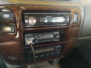 Nissan Patrol CB radio mount/holder 1din
