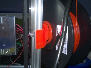 Kossel 2020 filament holder with bearings