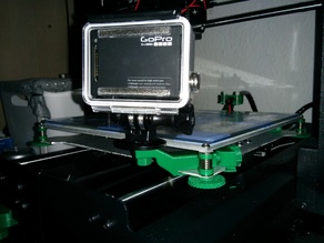 Wanhao Duplicator i3 GoPro or 6mm camera mount
