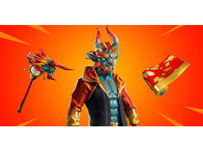 Firewalker Fortnite (Character Only)
