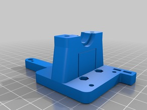 XY_Joiner/E3D_Mount/Fan_Duct with Support for CubeAnet8