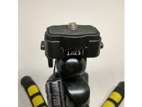Tripod Shoe for TNB gorillapod Style tripod