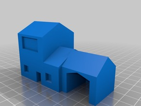 town houses (low poly)