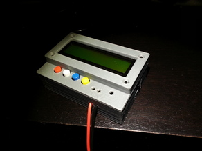 Chassis for a LC100-A Induction/Capacitance Meter